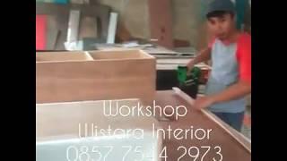Workshop Custom Furniture Jakarta Bekasi (wistara Interior)