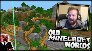 I React To My Old Minecraft Worlds!
