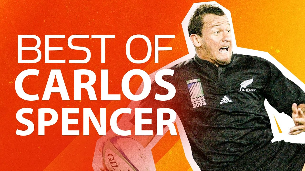 👑 KING CARLOS 👑 Best Carlos Spencer Skills, Passes & More at Rugby World Cup