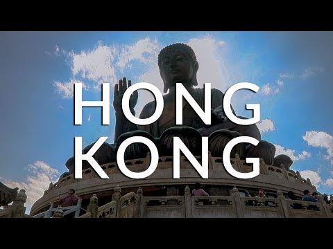 TRAVEL VLOG: EXPLORING HONG KONG & VISITING THE BIG BUDDHA (Asia 2018 #9)