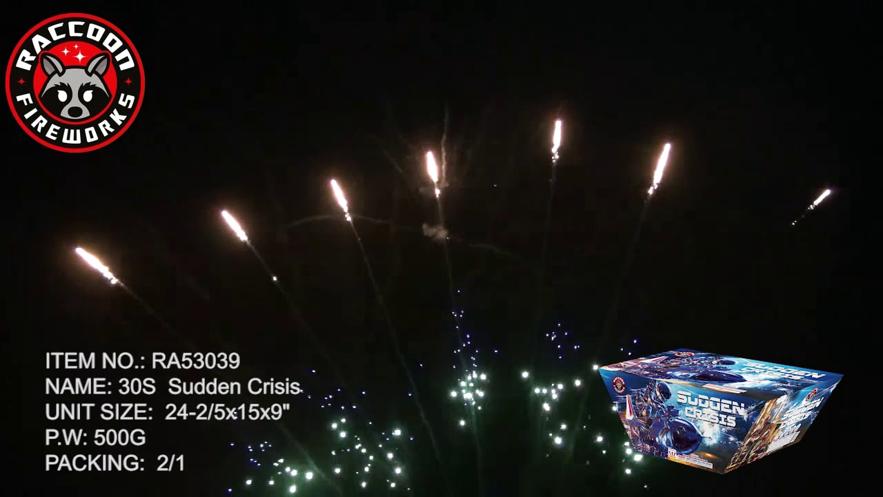 Best 500 Gram Cakes 2020 Sudden Crisis by Raccoon Fireworks RA53039, 2020 New Item   YouTube