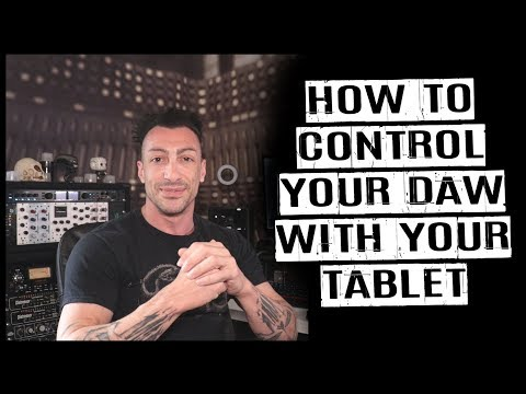 How to Control Pro Tools Logic Ableton with your Tablet [FREE] 2019