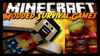 Minecraft: SUPERHERO HUNGER GAMES! - AntVenom POV (Superheroes Mod)