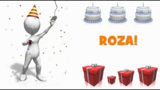 HAPPY BIRTHDAY ROZA!