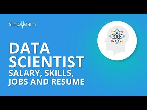 Data Scientist Salary, Skills, Jobs And Resume | Data Scientist Career | Data Science | Simplilearn