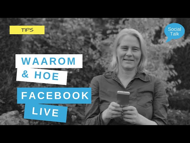 Hoe starten met Facebook Live Video