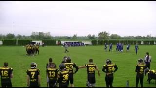 3. Kolo DLS: Jagodina Black Hornets – Novi Sad Wild Dogs 1. Poluvreme