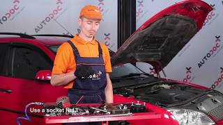 How to change Strut mount MONDEO III Saloon (B4Y) - step-by-step video manual