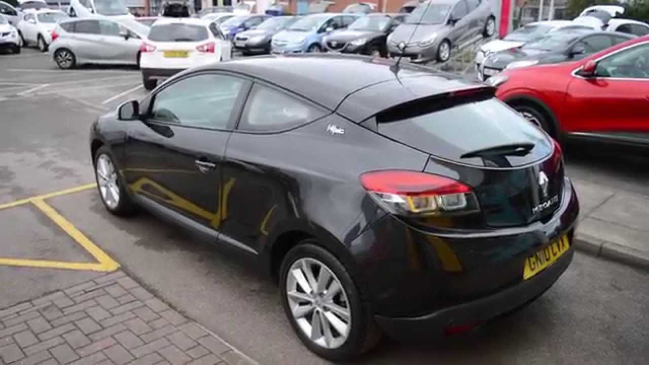 2010 renault megane coupe 1 6 i music gn10 cvx at hylton renault cheltenham youtube. Black Bedroom Furniture Sets. Home Design Ideas