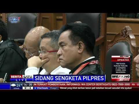 Tanggapan Hakim MK Terkait Keberatan Perbaikan Permohonan Sengketa Pilpres