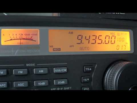 North Korea Interval signal Voice of korea 9435 khz