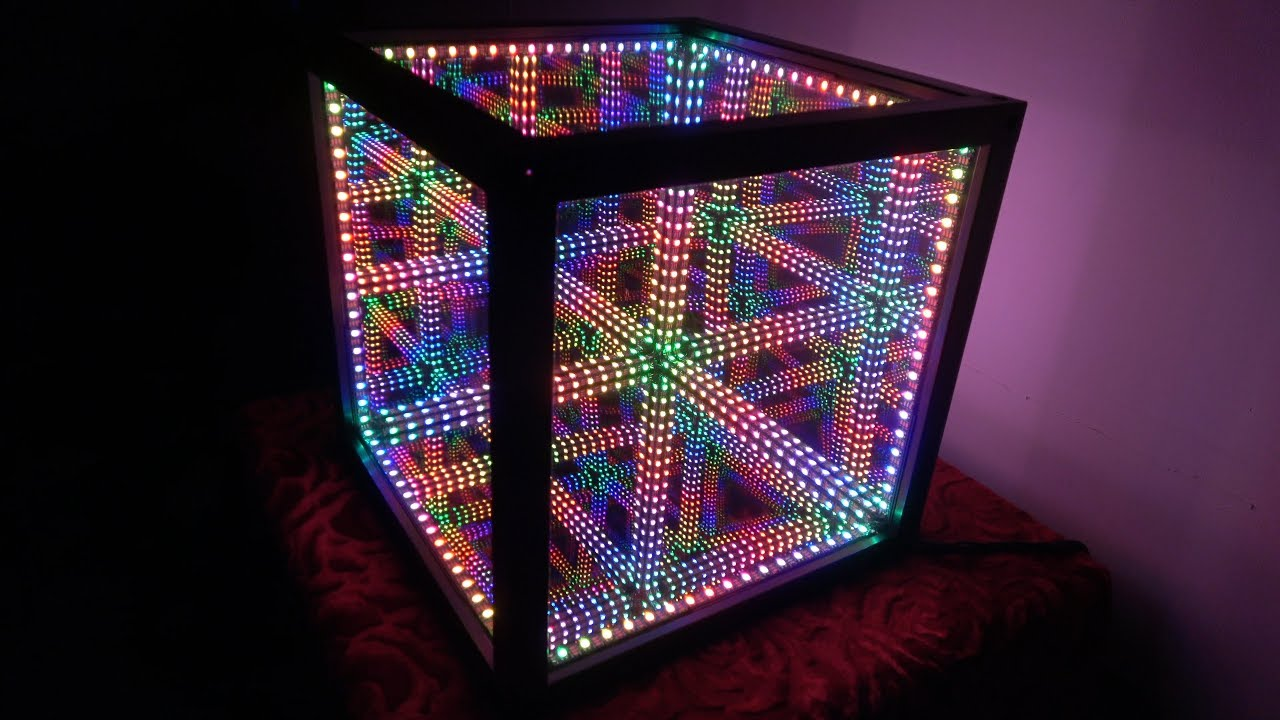 HyperCube Takes Infinity Mirrors to Another Dimension