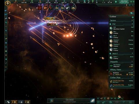 Stellaris Megacorp - Part 7 - First Battle  