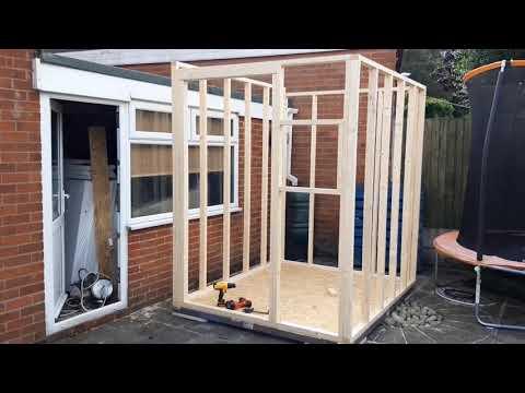 Mini garden office build 2020