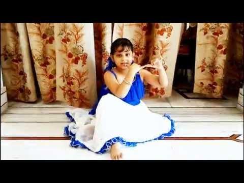 maiya yashoda dance performance by 5 year old anshika [HD]