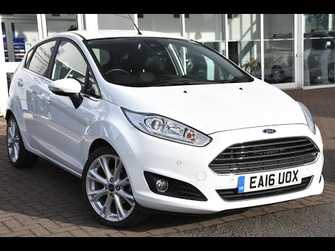 Used Ford Fiesta 1 5 Tdci Anium X 5dr Frozen White 2016