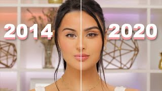How I used to do my makeup THEN VS NOW l New MakeupTechniques