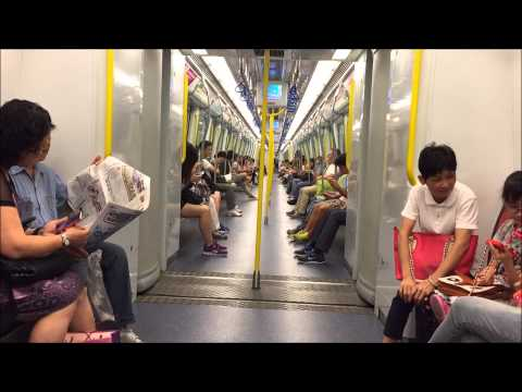 Mass Transit Railway HD: West Rail Line From Hung Hom to Tuen Mun in 9 Minutes
