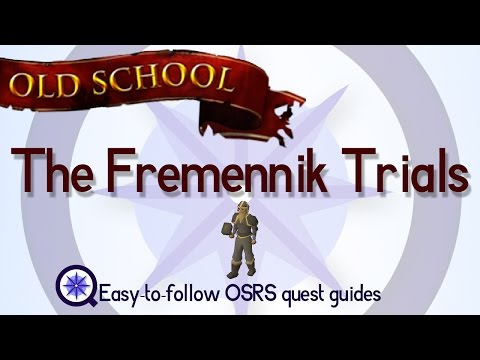 The Fremennik Trials - OSRS 2007 - Easy Old School Runescape Quest Guide
