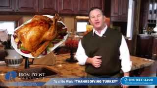 How Big of a Turkey do You Cook for Thanksgiving? | Kevin Fritz | 916-985-3200
