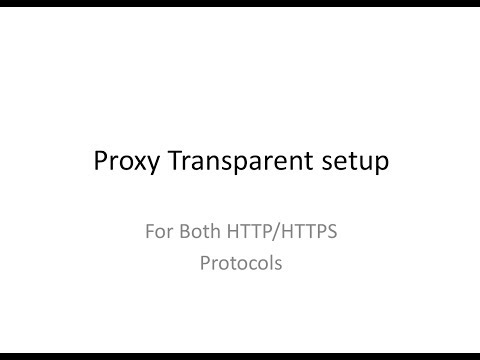 Setup your proxy as transparent for both HTTP/HTTPS protocols
