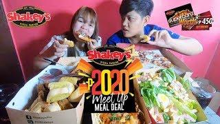 Gambar cover SHAKEY'S 2020 MEET UP MEAL DEAL MUKBANG