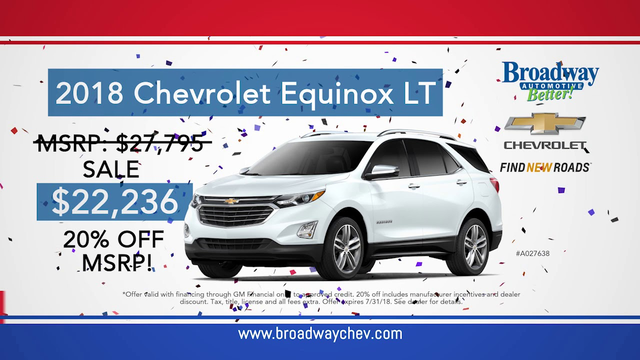 Wonderful Broadway Chevrolet Red, White And Blue Sale In Green Bay, WI