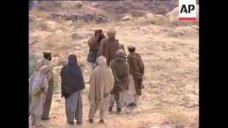 Bombing continues at the Tora Bora cave complex