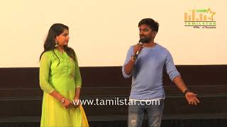Music Director Dharan Kumar And Deekshitha Press Meet