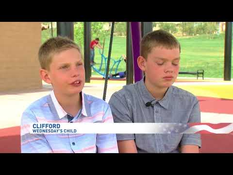 WEDNESDAY'S CHILD: Share a seat at your table with Jason and Clifford