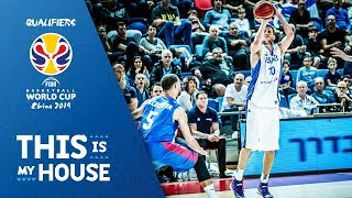 Israel v Great Britain - Highlights - FIBA Basketball World Cup 2019 - European Qualifiers