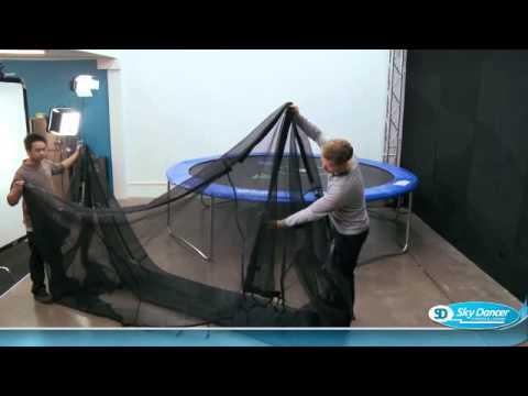 sportspower trampoline assembly instructions