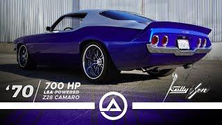 750 hp Supercharged LSA 1970 Camaro Restomod