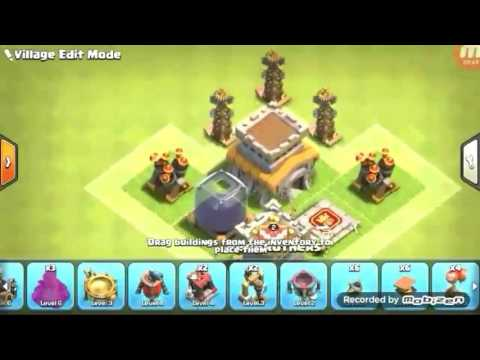 Clash of Clans Th 8 war base. ANTI Dragon + Pekka