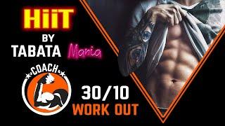 TABATA 30/10 - HiiT Workout music w/ TIMER - NCS & TABATAMANIA
