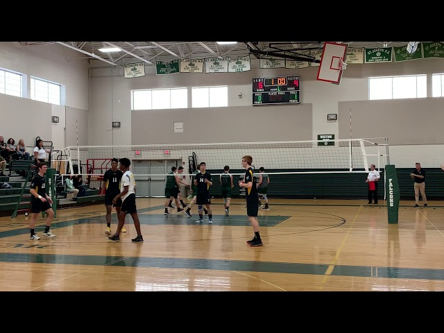 2019 NJ Boys Volleyball, Central Quarter Final, Game2