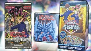 BEST YuGiOh NEW WALMART MYSTERY POWER BOX OPENING! NEW ANCIENT LEGACY MYSTER BOX!