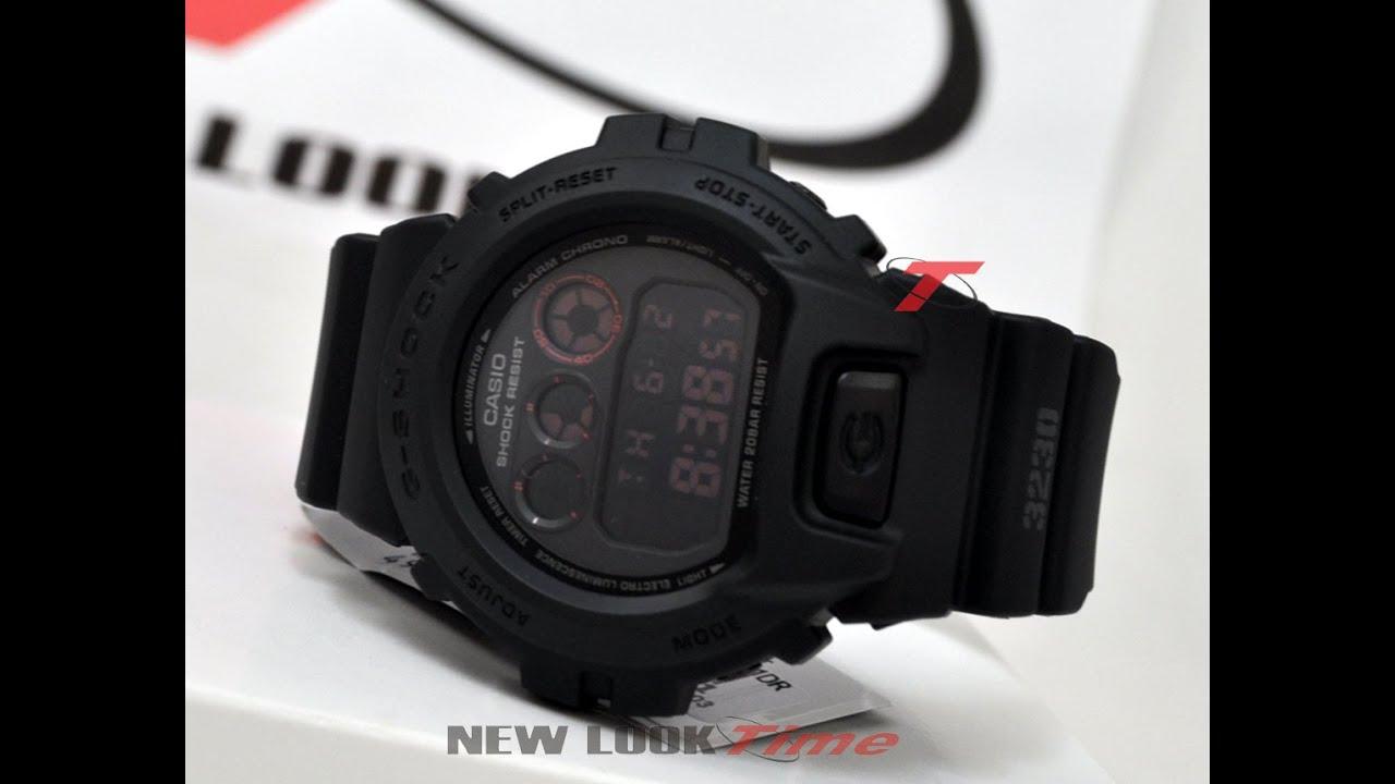 0fa9a4fe3b7 Relógio CASIO G-Shock DW-6900MS-1DR - New Look Time Relógios - YouTube