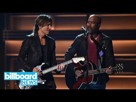 Keith Urban Calls Out Harvey Weinstein With CMAs 2017 Performance | Billboard News