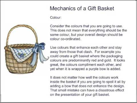 The Art Of Creating Gift Baskets