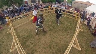 Torneo de duelos Vivar del Cid, julio 2017. Ivan salcedo vs Ivan Emilio