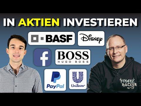 Investieren in Aktien wie Disney, Paypal, BASF & Co..   Aktiv vs. Passiv   Finanzrocker Interview #1