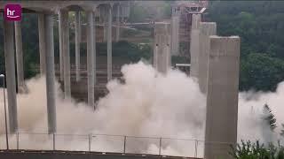 Sprengung der Lahntalbrücke - Die Highlights