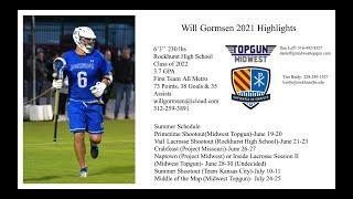 Will Gormsen 2022 Spring Highlights