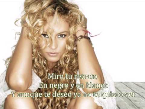 Paulina Rubio Retrato Letra mp3