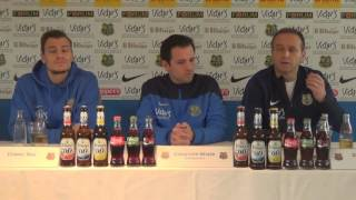 SSV Ulm - 1.FC Saarbrücken |Pressekonferenz vor dem Spiel 20.Spieltag 16/17