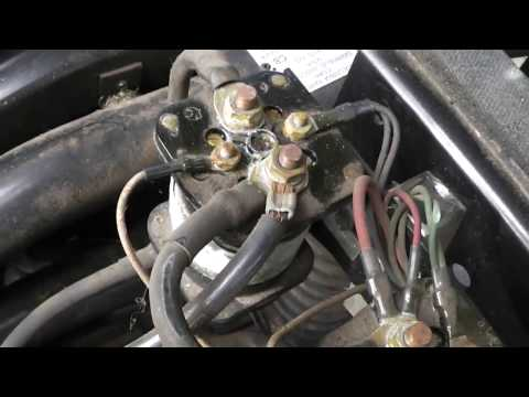 Columbia Parcar Golf Cart - YouTube on