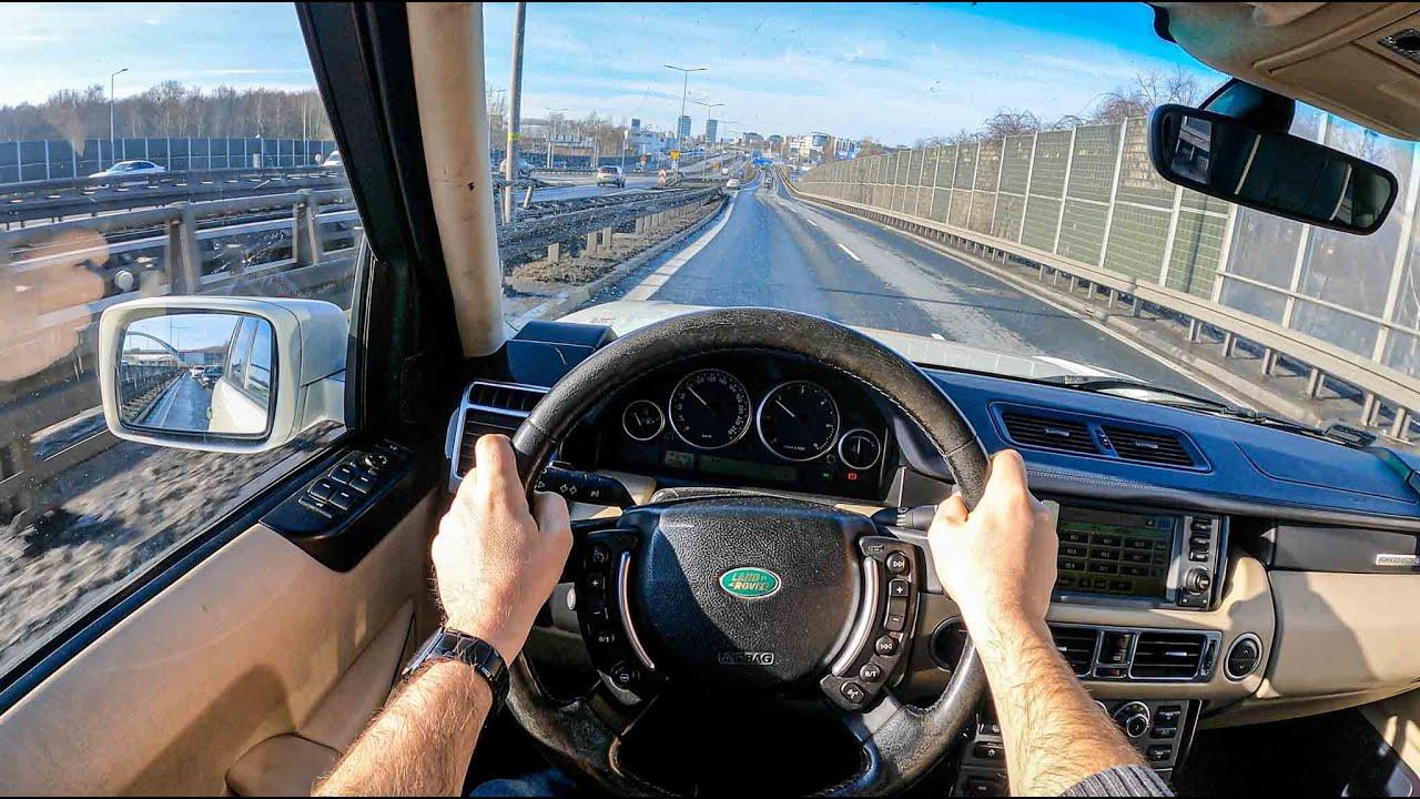 2007 Land Rover Range Rover (3.6 TD V8 271HP) | POV Test Drive #657 Joe Black