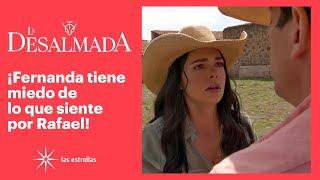 La Desalmada: ¡Fernanda confunde a Rafael con Santiago! | C- 16 3/3