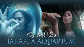My First Vlog : Berenang Sama Hiu di Dalem Mall?! | Asyifa Latief